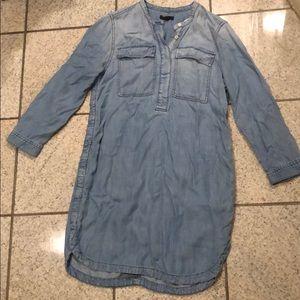 J Crew Jean shirt dress